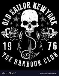 Design Skull T Shirt Sailor Skull T Shirt Graphic Design
