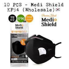 10 PCS - Medi Shield <b>KF94</b> Korean <b>Face Mask</b> (<b>Wholesale</b> ...