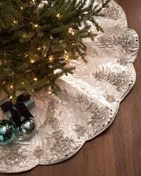 Seasons Designs 20 Inch Mini Christmas Tree Skirt In White With Christmas Tree Skirt Clearance