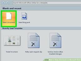 How Do You Make A Brochure On Microsoft Word 2007 Microsoft Office Word Brochure Template Templates Travel Tourism