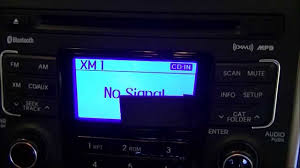 sending xm radio activation signal to xm or sirius radio tuners