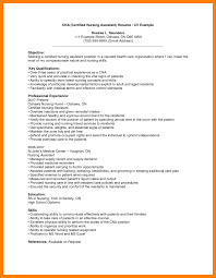 8 Examples Of Cna Resume By Nina Designs