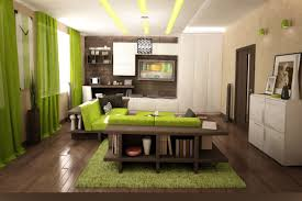 Living Room : Marvelous Grey And Lime Green Living Room Decor Ideas With  Behind Sofa Bookcase Also Laminate Wooden Floor Plus Green Fur Rug How To  Make ...