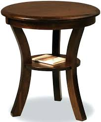 solid wood round end table round wood end table elegant wood round end table off sierra