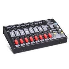 G MARK 8 kanal Mini taşınabilir mikser ses konsolu Mono/Stereo ses sistemi  için genişletilmiş enstrüman mikrofon güç adaptörü|Stage Audio