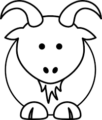 Small Picture Goat clip art animal coloring pages could be applied to many