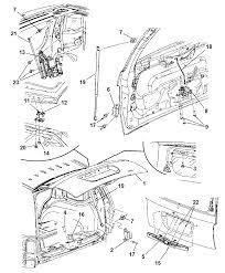 2009 chrysler aspen liftgate diagram i2215122