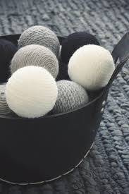 Decorated Styrofoam Balls DIY Decoration using the following materials wool yarn 67