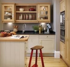 Image Of Beautiful White Brown Wood Stainless Unique Design Kitchen Cabinet  On A Budget Wall. Kitchen Room Ideas Dining Great Pictures