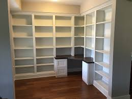 office built in. Custom Office Built-in With Corner Desk Dark Stained Maple Desktop,file Cabinets Built In O