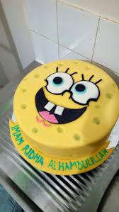 Good 12 Spongebob Themes For Cakes Photo Spongebob Birthday Cake