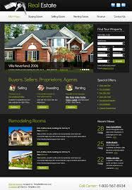 Real Estate Website Templates Custom 48 Best Free Real Estate Templates