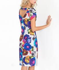 Alton Gray Size Chart Alton Gray Gray Floral Open Back Sheath Dress Women