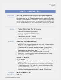 22 Resume For Seamstress Free Templates Best Resume Templates