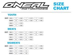Oneal Fitment Guide Motorcycle Accessories Supermarket
