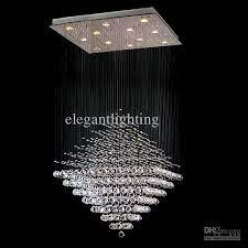 modern lighting crystal diamond pendant lamp ceiling light rain for elegant property crystal raindrop chandelier ideas