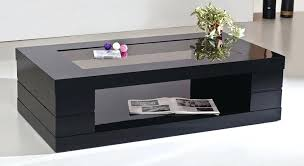 black coffee tables cfee s uk gloss table with drawers