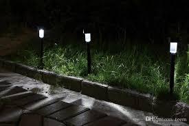 Solar Light Garden Light LED Lighting Solar Tower Lamp Plastic Solar Lighting For Gardens