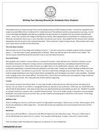 Sample Resume For Graduate Nursing School Application Sample Resume For Graduate Nursing School Application New Resumes 21