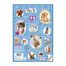 <b>альбом для рисования А4</b> Pretty Pets Sticker, <b>50</b> листов, 1 узор ...