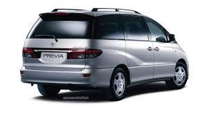 TOYOTA Previa specs - 2003, 2004, 2005 - autoevolution