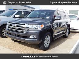 2017 New Toyota Land Cruiser 4WD at Toyota of Fayetteville Serving ...