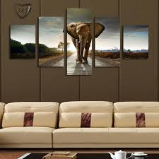 extra large wall art elephant painting canvas wall art picture home decoration living room canvas print modern painting large canvas