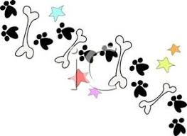 Image result for clipart dog prints
