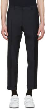 Suit Pants Size Chart Jil Sander Navy Slim Fit Suit Trousers Men Jil Sander Navy