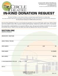 Sample Donation Form 20 Printable In Kind Donation Acknowledgement Sample Letter