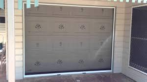 single garage doorHiss Retractable Insect Screen for Single Garage Door Part 2