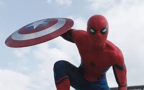 spider man captain america civil war shield wallpaper