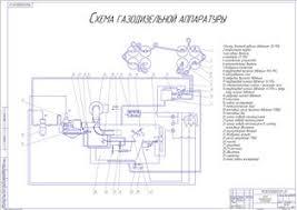 Скачать дипломную работу проект с чертежами перевод трактора  Диаграмма 1 Анализ предприятия 3 Схема газодизельной аппаратуры