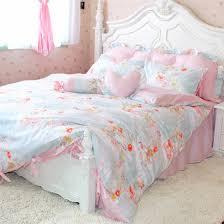 brilliant little girls comforter sets fl pink green bedding twin or full little girls bedding sets decor