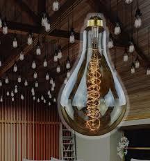 oversized historic light bulbs