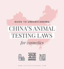 Understanding Chinas Animal Testing Laws 2018 Update