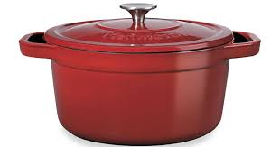 kenmore iron. hop on over to sears.com where you can score this kenmore 7-quart cast iron enamel dutch oven in red for only $33.32 (regularly $79.99)! even better,