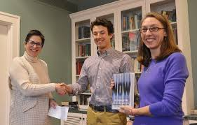class of news wesleyan benjamin glass 20 took honorable mention his essay the art of stability