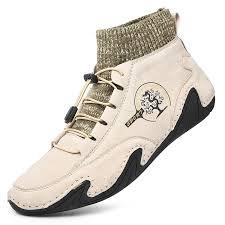 <b>SENBAO Men Boots</b> Beige EU 47 Boots Sale, Price & Reviews ...
