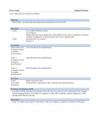 Resume Template Microsoft Word Mac Inspiration Is There A Resume Template In Microsoft Word For Mac New College