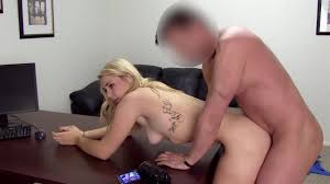 Doggy style fuck with a pretty blonde amateur PornDoe
