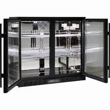 glass door bar fridge exotic 2 glass door mercial bar fridge with lg pressor great energy