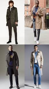 men s trench coat outfit inspiration lookbook autumn winter 2016
