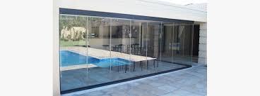 bi folding frameless doors frameless glass