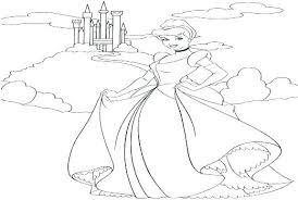 Princess Belle Coloring Pages New Princes Princesses Colouring