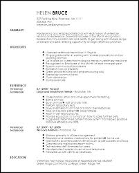 Veterinary Resumes Veterinary Technician Resume Objective Examples Awesome