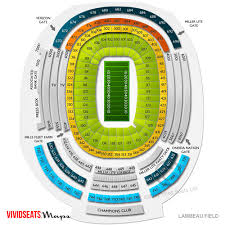Fresh Lambeau Field Seating Chart With Rows Seat Number