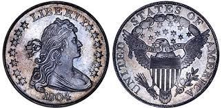 1804 Silver Dollar Value Chart Silver Dollar Prices Silver Dollar Content Rare Coins