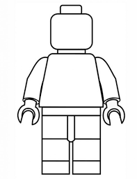 Small Picture Lego Minifigures Coloring Pages qlyviewcom