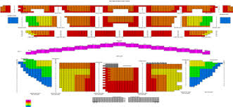 Eastern Michigan University Convocation Center Seating Chart Seating Chart Michigan Opera Theatre